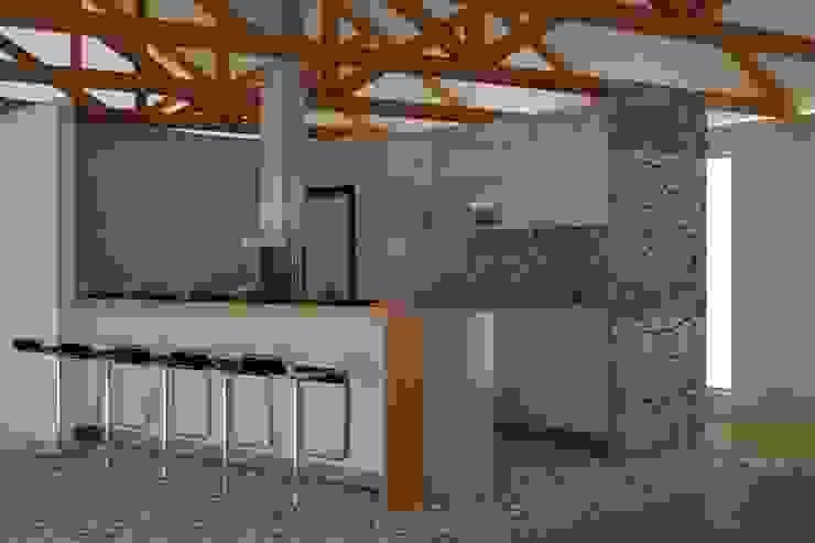 CASA VILLA DE LEYVA: Cocinas de estilo  por santiago dussan architecture & Interior design, Ecléctico