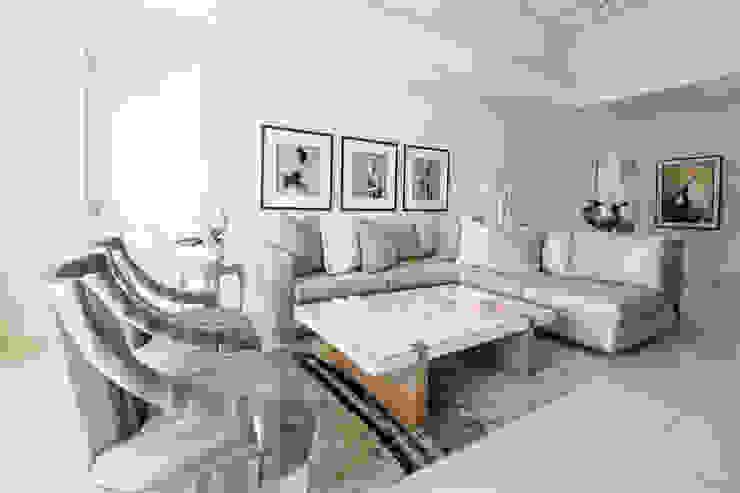 Tru Interiors Moderne Wohnzimmer