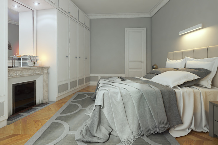 Agence KP Modern style bedroom