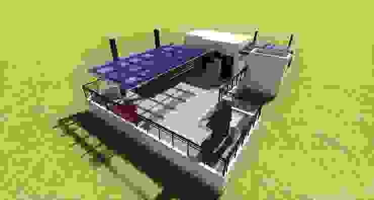 Diseno Y Construccion De Terraza Lounge Bar Cdmx By Arqos
