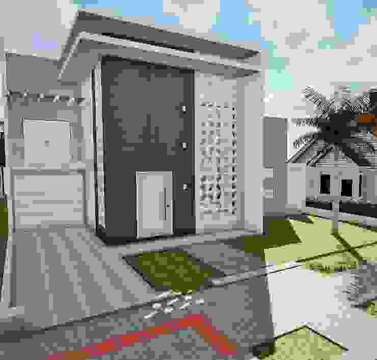 Modern Houses by Ivonete Teixeira Arquitetura Modern