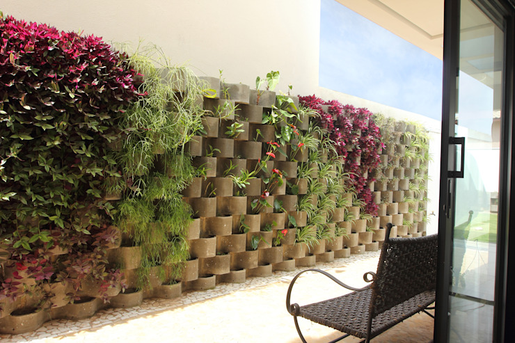 Residência AT - Itupeva SP Jardins modernos por Taguá Arquitetura Moderno