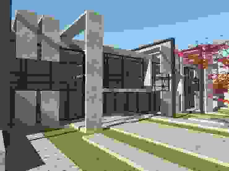 Inner Space at Gachibowli, Hyderabad—Information Center Minimalist houses by 29 studio Minimalist