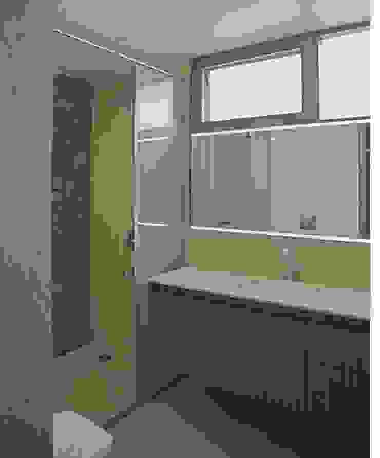 Apartment Interiors in Jubilee Hills Modern bathroom by 29 studio Modern