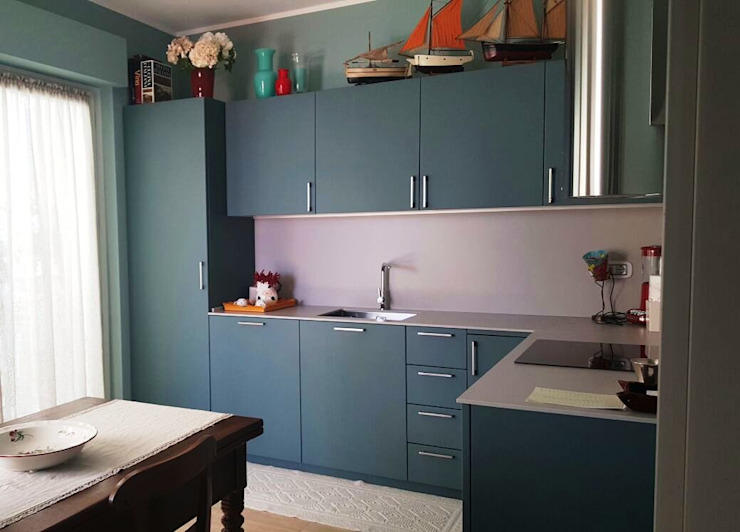 Altre nostre cucine Cucina moderna di Vibo Cucine sas di Olivero Bruno e c. Moderno
