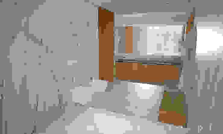 WC Suite Casas de banho modernas por Areabranca Moderno