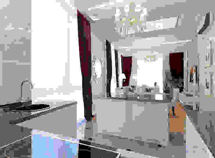Cocinas de estilo clásico de Студия интерьера Дениса Серова Clásico