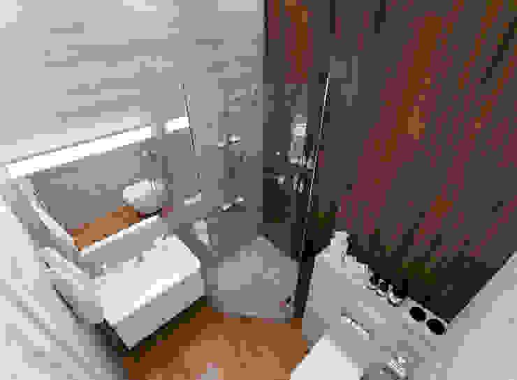 Bathroom by Студия интерьера Дениса Серова,