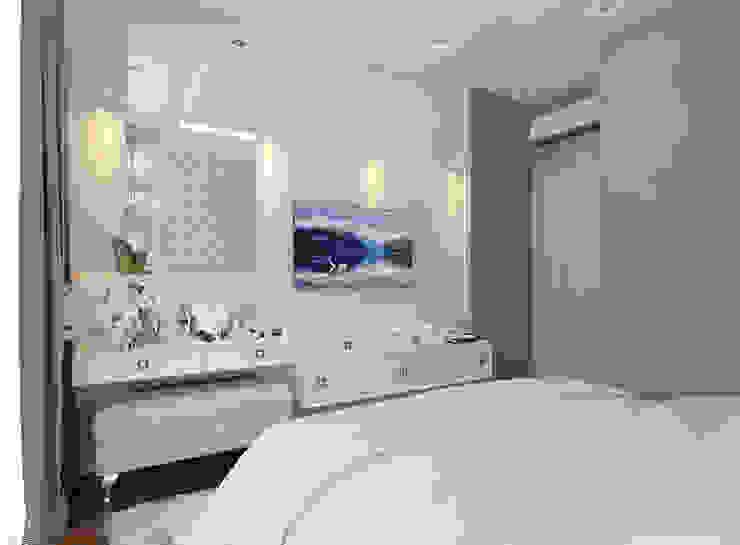 Dormitorios de estilo clásico de Студия интерьера Дениса Серова Clásico