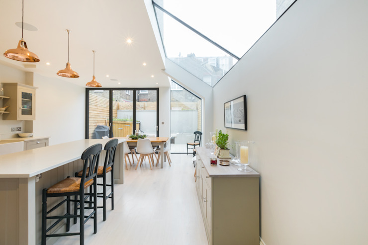 Major renovation, extension and loft. Fulham W6 Modern kitchen by TOTUS Modern