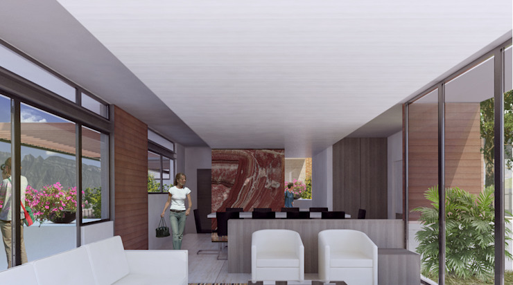 by 75 Arquitectura Modern
