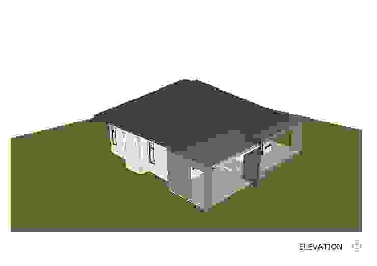 แบบบ้านชั้นเดียว โดย Takuapa125 โมเดิร์น