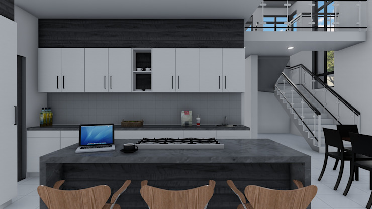 Ellipsis Architecture Modern kitchen