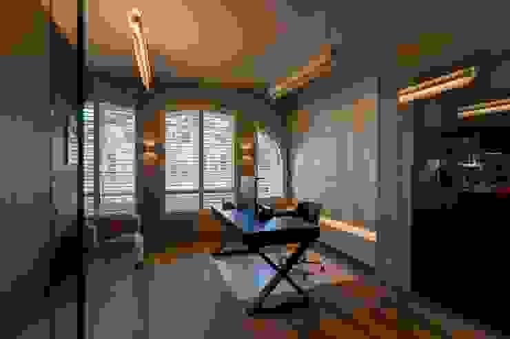 Bureel Moderne mediakamers van Alewaters & Zonen Modern Hout Hout