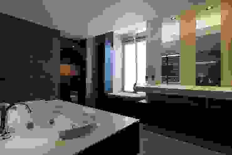 Badkamer Moderne badkamers van Alewaters & Zonen Modern Hout Hout