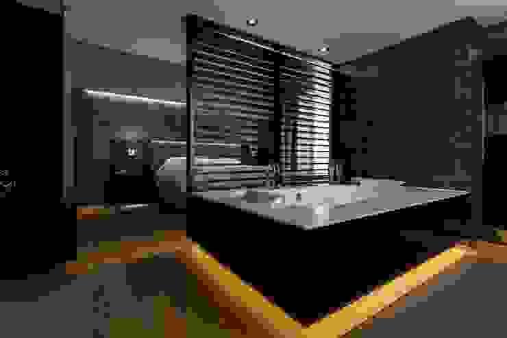 Slaapkamer badkamer Moderne slaapkamers van Alewaters & Zonen Modern Hout Hout