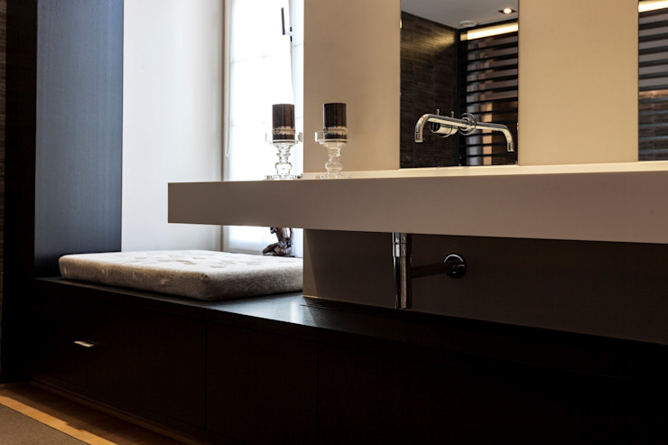 Badkamer: modern  door Alewaters & Zonen, Modern Hout Hout