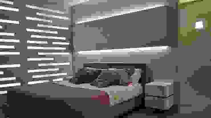 Illuminazione Camera da Letto: Camera da letto in stile  di Formarredo Due design 1967,