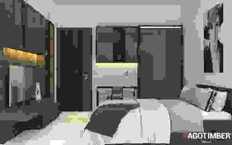 Bedroom Design - 1 Modern style bedroom by Yagotimber.com Modern