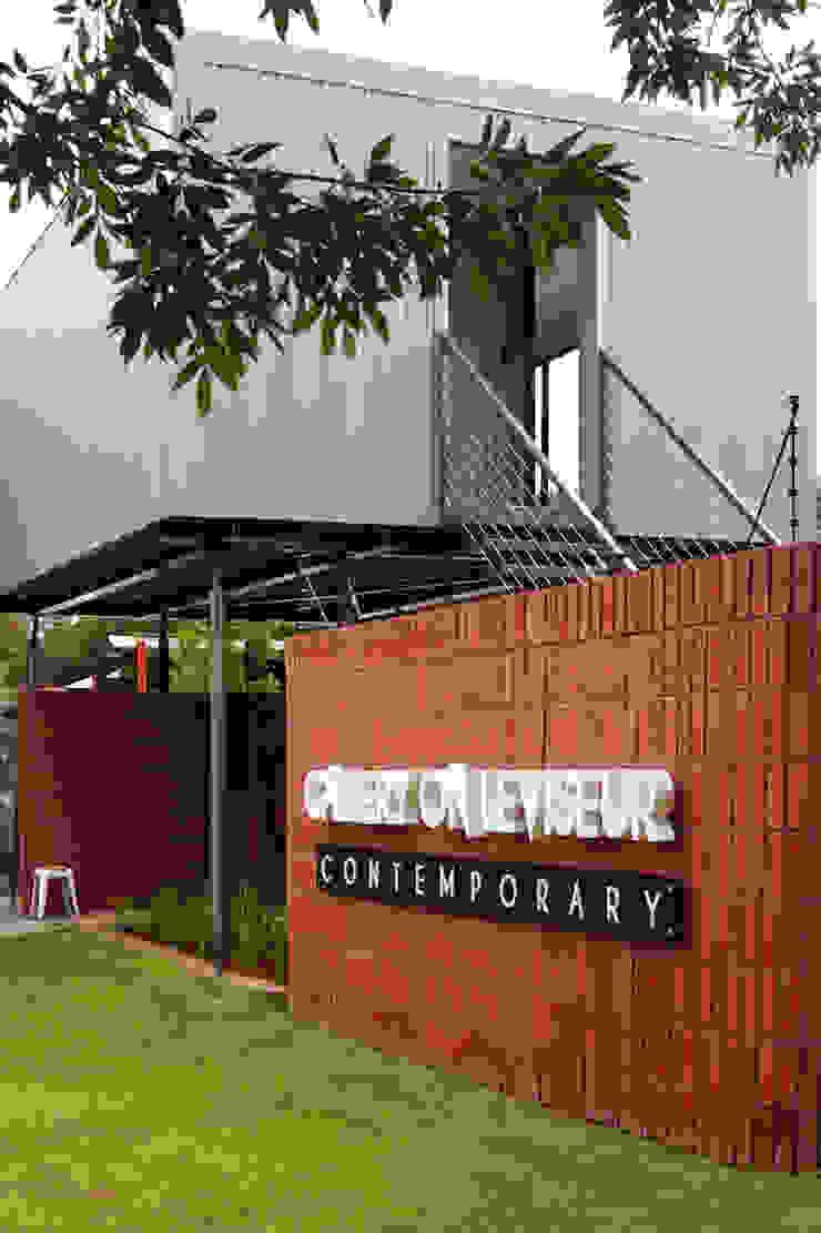 Gallery on Leviseur by Sergio Nunes Architects Industrial Bricks