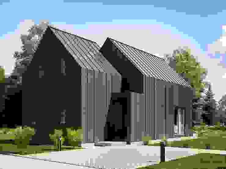 Projekt domu letniskowego House S od Majchrzak Pracownia Projektowa