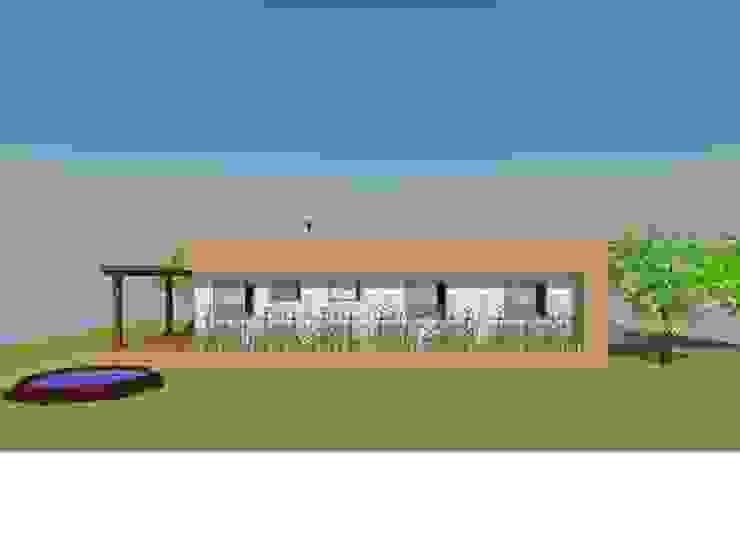 Fachada Frontal de Arquitectura y Construcción Chinquel Rural
