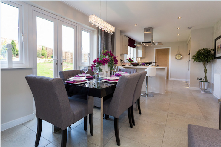 New Year—New Home Decor Ideas… … … Modern dining room by Graeme Fuller Design Ltd Modern