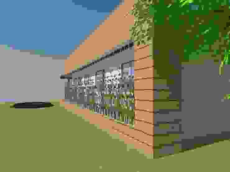 Fachada Principal de Arquitectura y Construcción Chinquel Rural