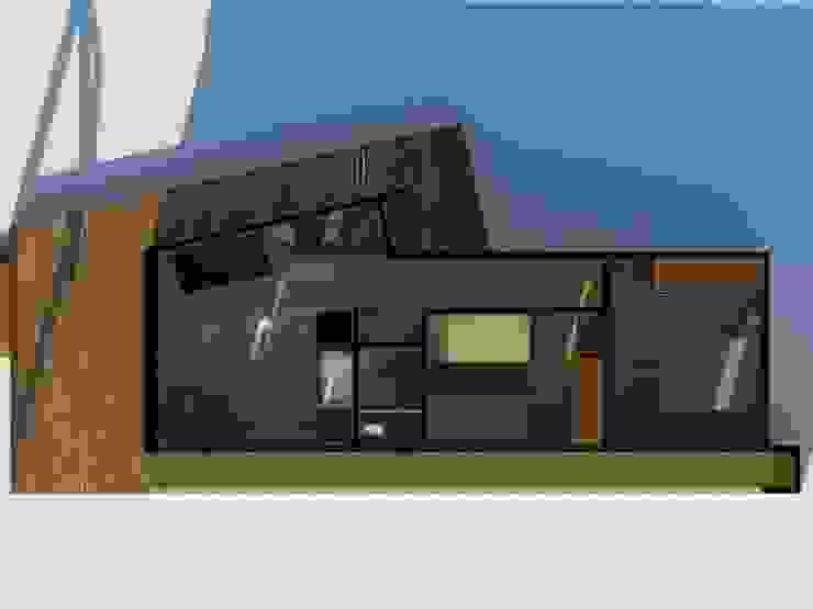 Planta vivienda de Arquitectura y Construcción Chinquel Rural