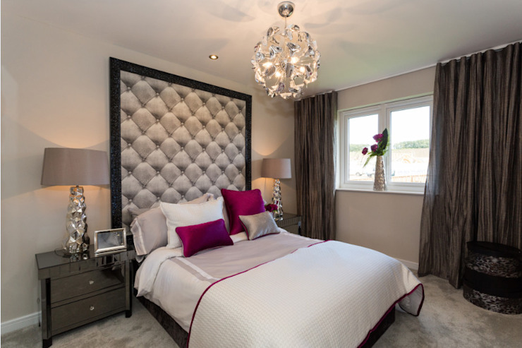 New Year—New Home Decor Ideas… … … Modern style bedroom by Graeme Fuller Design Ltd Modern