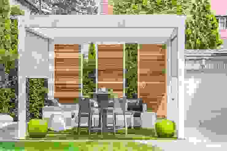 Exterior photos - Dunakeszi - HUN Сад в стиле модерн от Bata Tamas Photography Модерн