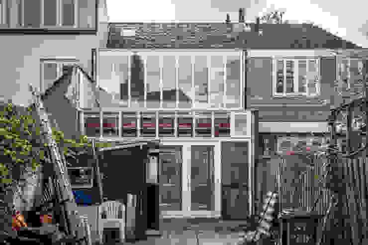 Achtergevel:  Huizen door architectenbureau Huib Koman (abHK),