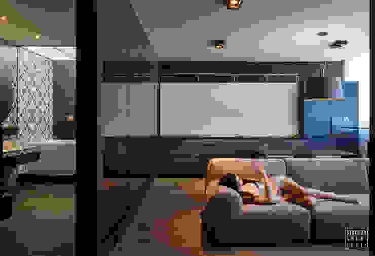Livings de estilo minimalista de IGOR SIROTOV ARCHITECTS Minimalista
