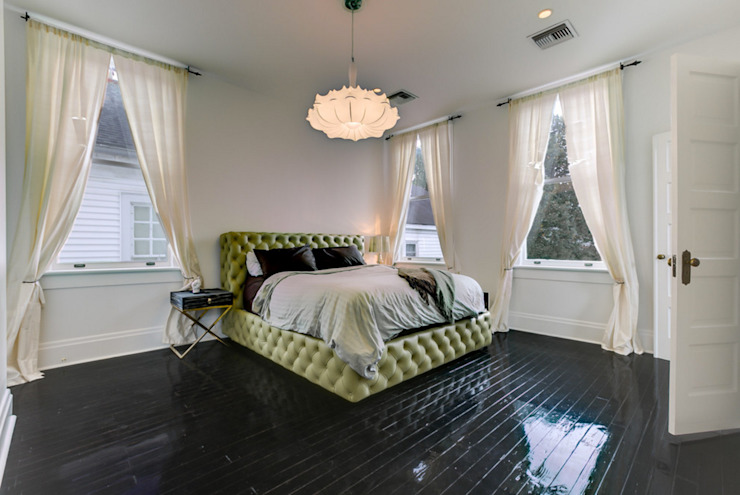 Nashville Avenue Residence, New Orleans Eclectic style bedroom by studioWTA Eclectic