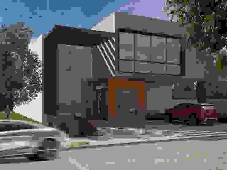 Casa Virreyes Casas minimalistas de Studio 3Design Minimalista Concreto