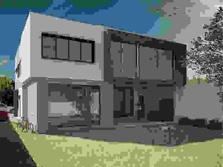 Casa Virreyes Casas minimalistas de Studio 3Design Minimalista Piedra