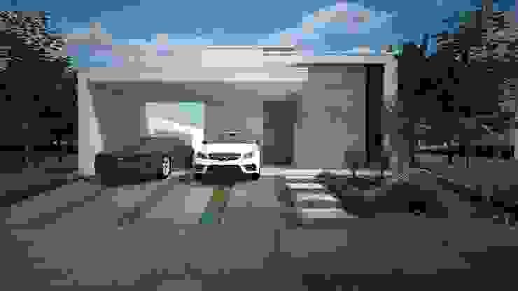Projeto residencial com 80 metros quadrados Construtora Lima Projetos Casas modernas