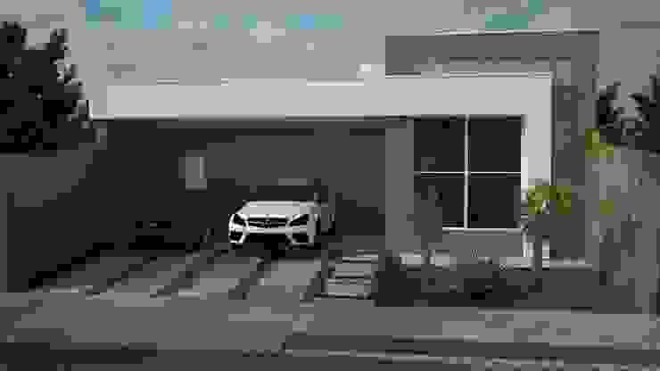 Дома в стиле модерн от Construtora Lima Projetos Модерн