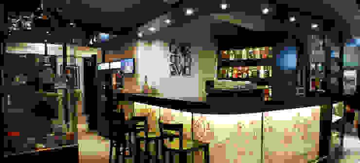 BAR CAFE Bares y clubs de estilo moderno de Estudio Bono-Sanmartino Moderno