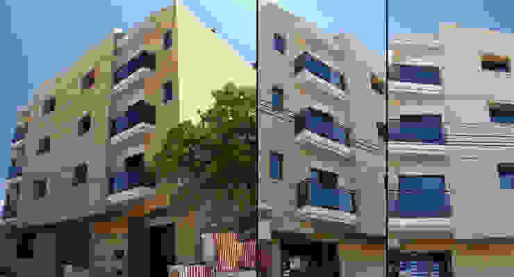 Vista Fachada Casas modernas: Ideas, imágenes y decoración de Estudio Bono-Sanmartino Moderno