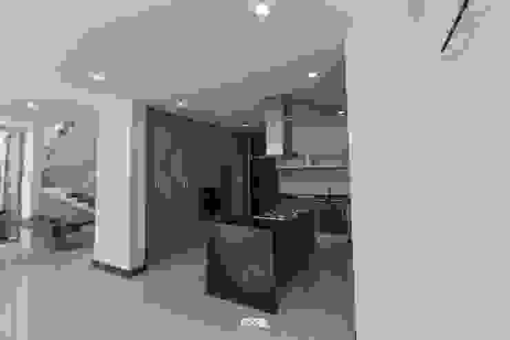 2M Arquitectura 現代廚房設計點子、靈感&圖片