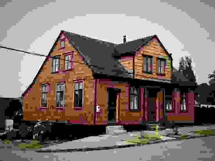 PROYECTO RESTAURACIÓN CASA GOTSCHLICH Casas de estilo escandinavo de Moraga Höpfner Arquitectos Escandinavo