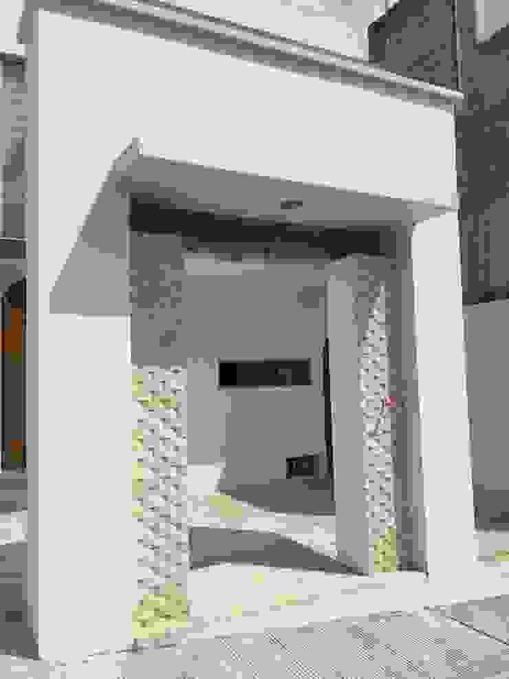 Detalle Casas modernas de Cahtal Arquitectos Moderno