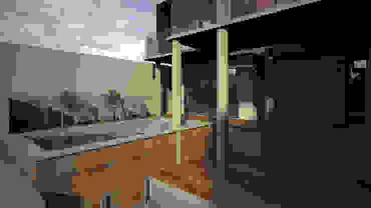 Área de Alberca Albercas modernas de Lentz Arquitectura Diseño y Construcción Moderno Concreto reforzado