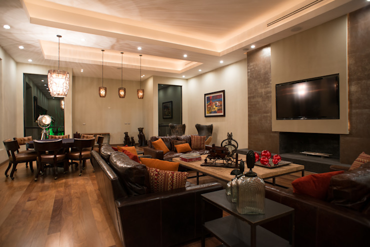 Living room by TAMEN arquitectura,
