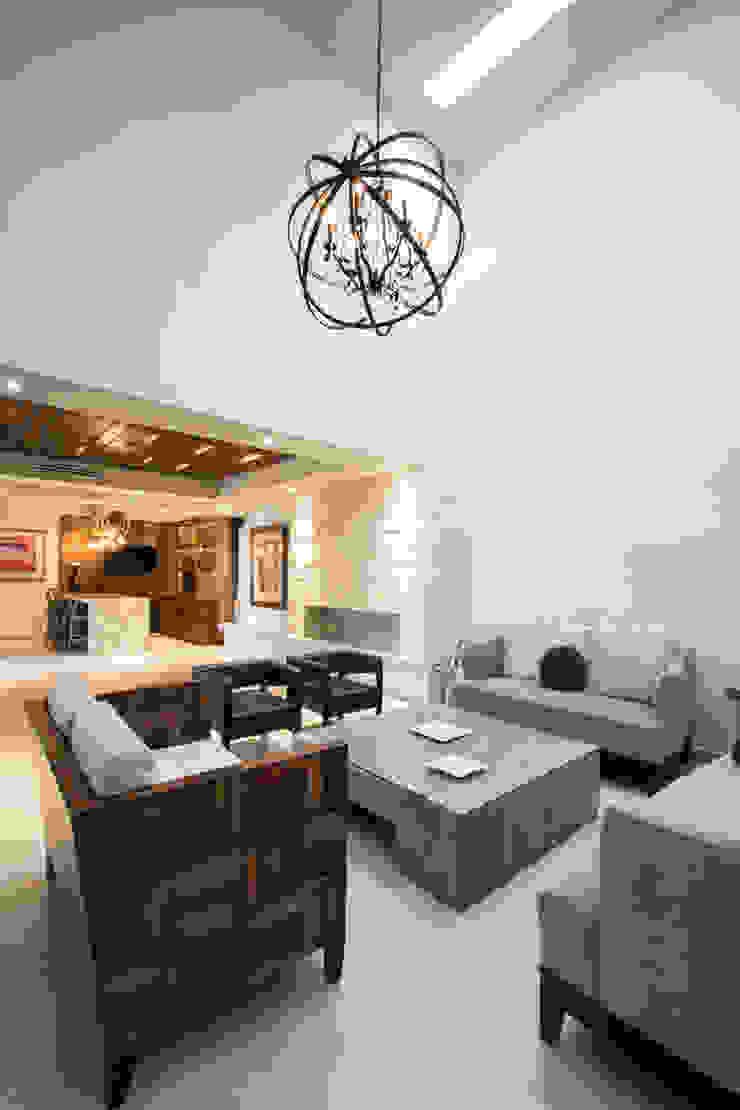 Salones de estilo moderno de TAMEN arquitectura Moderno