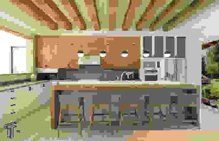 Cocinas modernas: Ideas, imágenes y decoración de TAMEN arquitectura Moderno