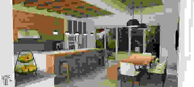 Cocinas de estilo  de TAMEN arquitectura, Moderno