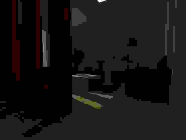 Modern Living Room by MVarquitectos Modern