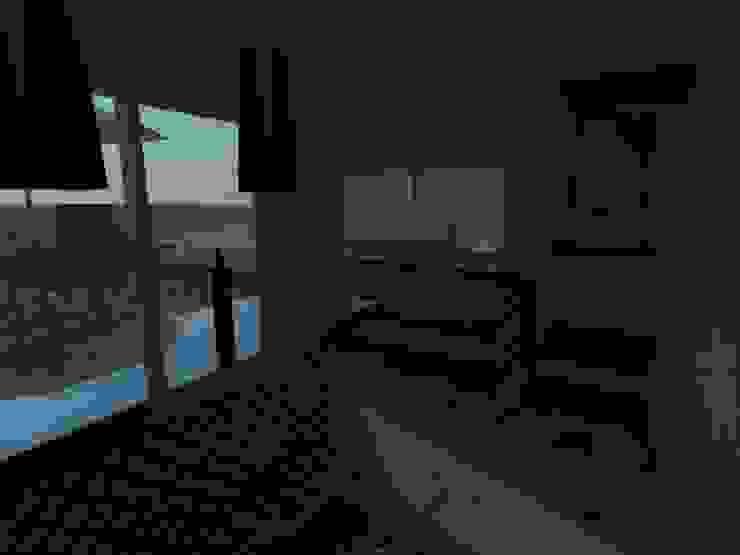 モダンな キッチン の MVarquitectos Arq. Irma Mendoza モダン